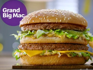 McDonald's UK Grand Big Mac Advert