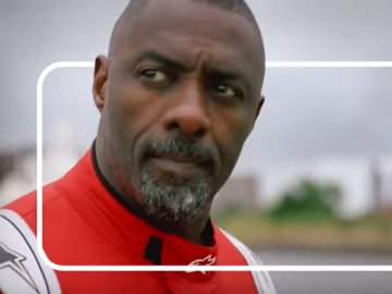 Quibi Commercial - Actor Idris Elba