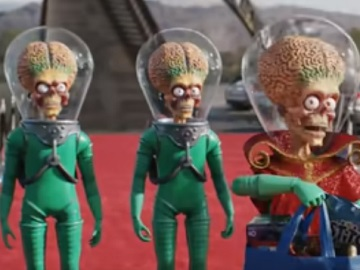 Walmart Super Bowl Commercial - Aliens