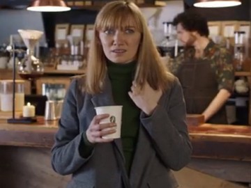 McDonald's McCafe TV Advert - Blonde Woman