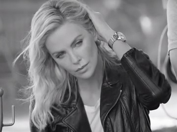 Breitling Navitimer 35 Charlize Theron Commercial