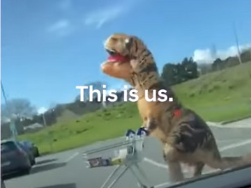 Hyundai This Is Us Commercial - Dinosaur