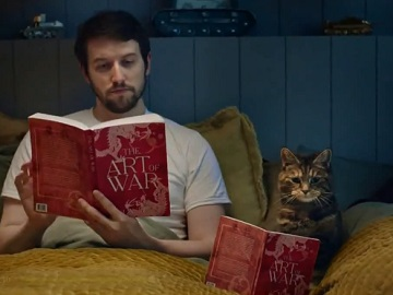 World of Tanks Commercial - Frank & Cat reading The Art of War