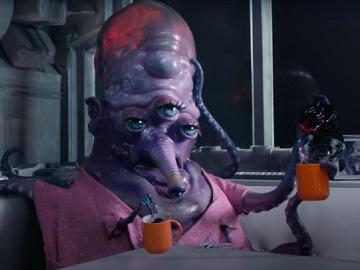 Dunkin' Alien Commercial