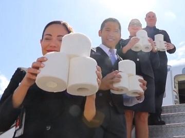 Virgin Australia Commercial - Toilet Paper Donation