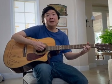 Facebook Live Advert / Commercial - Feat. Ken Jeong Playing the Guitar