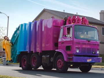 Glad ForceFlex Plus Colorful Garbage Truck Commercial