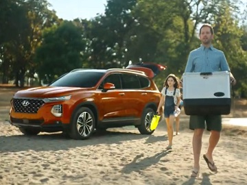 Hyundai Santa Fe Dad Look Commercial