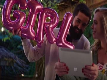 Microsoft Surface Go 2 Commercial / Advert Song - Girl Letter Balloons Foil