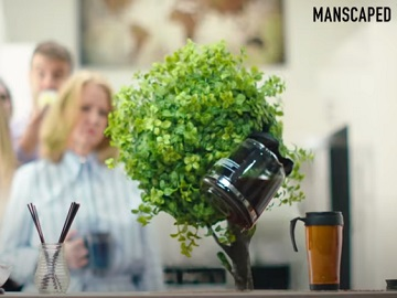 Manscaped Bush Out of Control Commercial