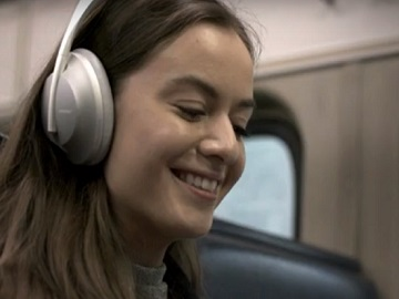 Bose NCH 700 Commercial / Advert Girl