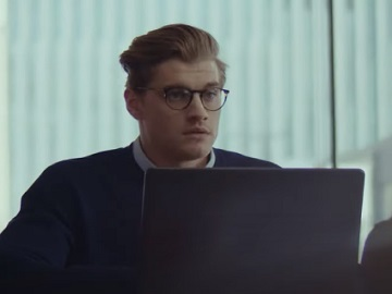Samsung Galaxy Book S LTE Connectivity Commercial Actor