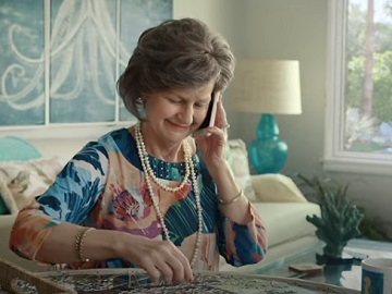 GEICO Spy Mom Vikings Commercial - Actress Cindy Drummond