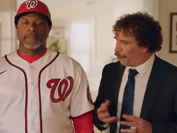 GEICO At Home Third Base Coach Commercial Actors