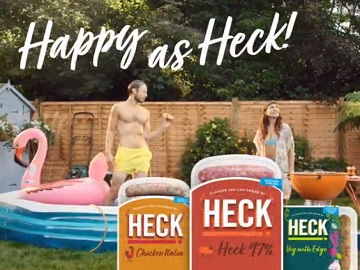 HECK Sausages TV Advert