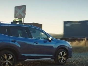 Subaru Forester Hybrid e-Boxer Commercial - Train