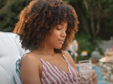 Bud Light Seltzer Curly Haired Girl Commercial