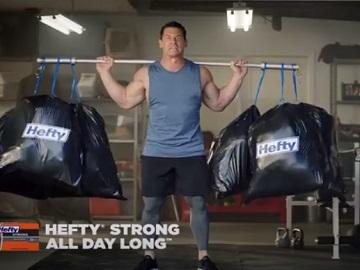 Hefty John Cena Never Skip Trash Day Commercial