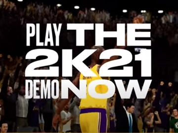 NBA 2K21 Play Demo Commercial