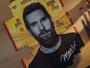 Walkers Crisps UEFA Champions League Commercial - Messi Puzzle
