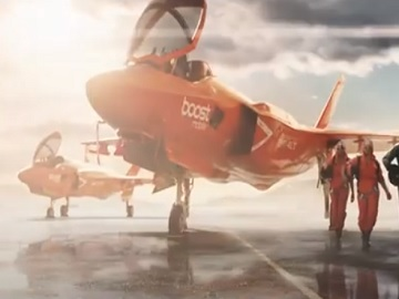 Boost Mobile Plane Commercial