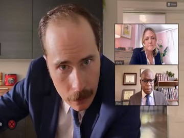 Folgers Commercial Videocall