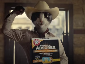 ARM & HAMMER Clump & Seal AbsorbX Clumping Cat Litter Commercial
