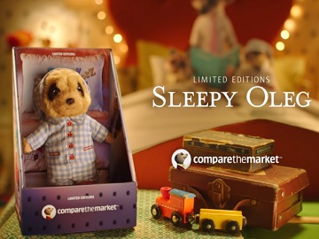 Compare the Market Sleepy Oleg Toy Commercial