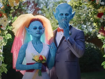 MandlyBands Rings Commercial - Alien Wedding