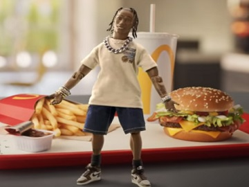 McDonald's The Travis Scott Meal Commercial