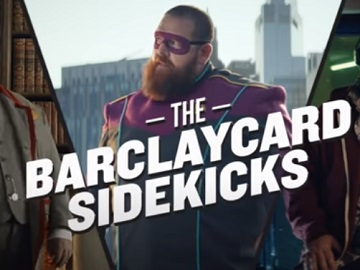 Barclaycard Sidekicks Nick Frost Advert