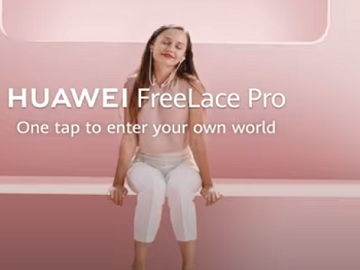 Huawei FreeLace Pro Commercial Actress