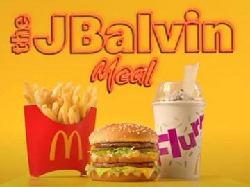 McDonald's J Balvin Meal Commercial