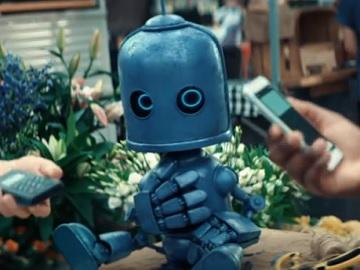 O2 Little Blue Robot Advert