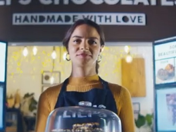 Tide Business Commercial Actress Girl Lili's Chocolates
