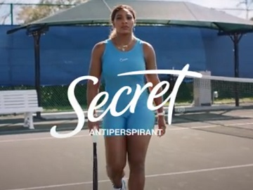 Secret Deodorant Serena Williams Commercial