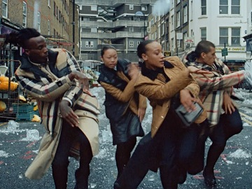 Burberry Dancers Advert