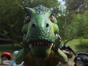 LEGO Christmas Commercial Dinosaur