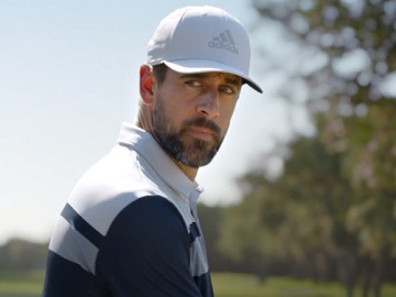 State Farm Aaron Rodgers Playing Golf Commercial