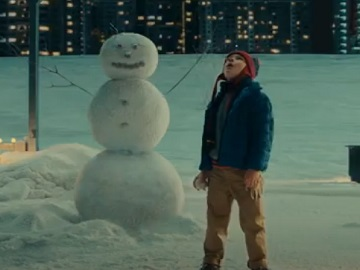 IKEA Christmas Commercial Boy and Snowman
