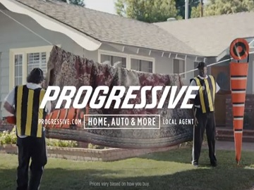 Progressive Mark & Marcus Rug Commercial