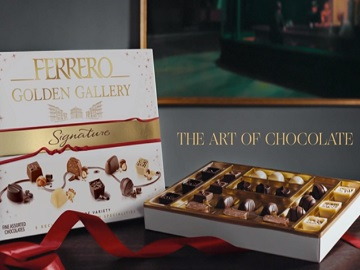 Ferrero Rocher Golden Gallery Signature Commercial