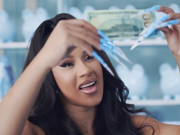 Reebok Club C Sneaker Commercial - Cardi B Ironing Dollar Bills