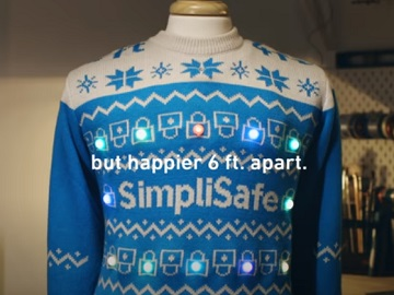 SimpliSafe Social Distancing Sweater Commercial