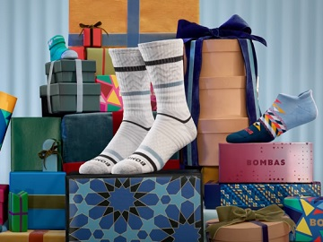 Bombas Socks Made to Give Christmas Commercial