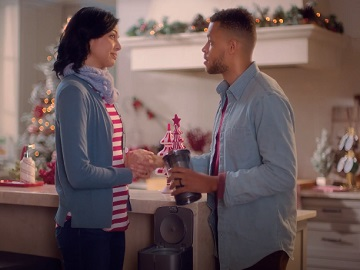 Samsung Commercial Elizabeth Mandrake and Thomas St. Everhousen - Candy Cane Business