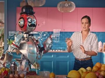 SodaStream Commercial: Robot Bartender & Girl