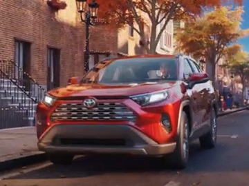 Toyota Animated Christmas Commercial / TV Advert