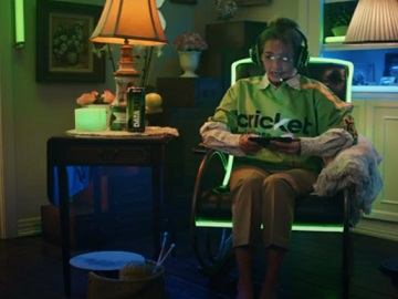 Cricket Wireless Nationwide 5G Grandma Gaming Commercial