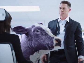 Experian John Cena & Purple Cow Commercial